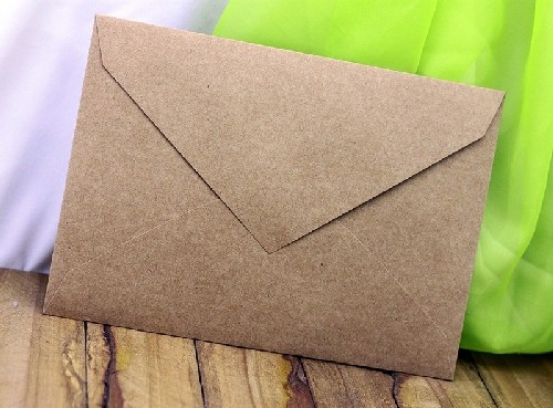 Envelope reciclado