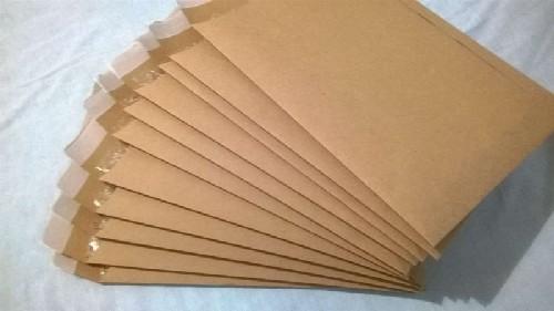 envelope com plástico bolha